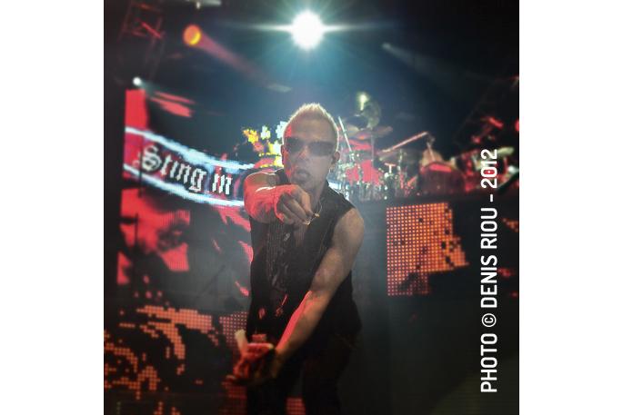 Scorpions en concert à Rennes