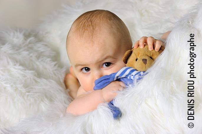 Portrait bébé : Tom