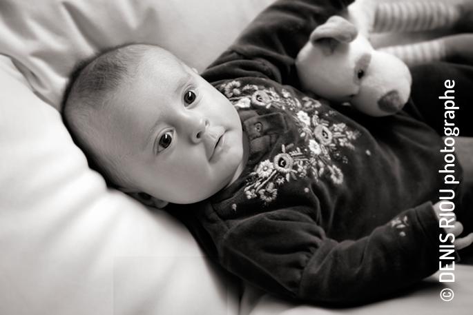 Clotilde, 3 mois