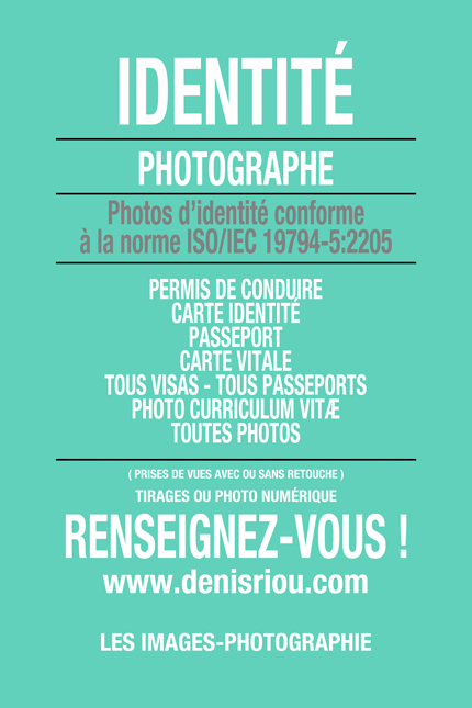 IDENTITÉ PHOTO BRUZ © Denis Riou photographe