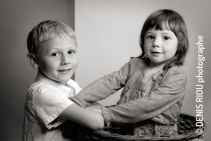 Portrait Lisa et Léo