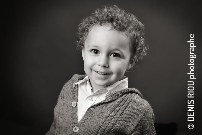 Portrait enfant : Gaïan