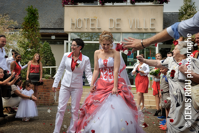 Mariage Jennifer et Hélène