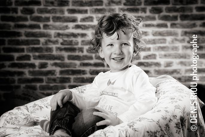 Adam, portrait enfant
