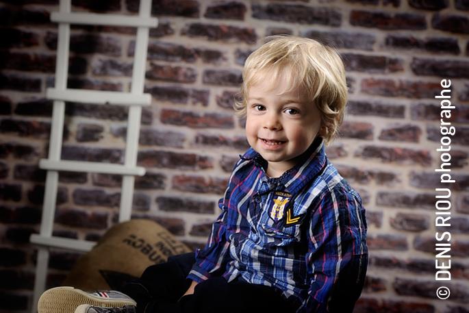 Noah, portrait enfant