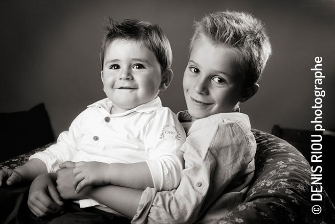 Jules et Raphaël, 2 jeunes frères