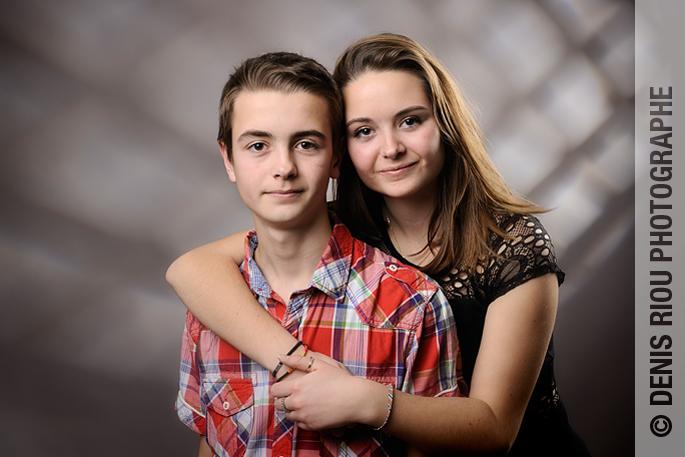 Portrait de Clarisse et Jonas