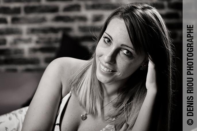 Chloë en studio photo