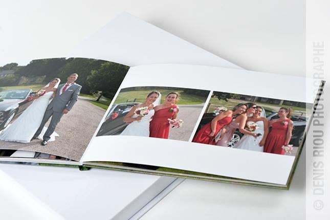 04  livre mariage avec coffret Denis Riou photographe Bruz Rennes Bretagne