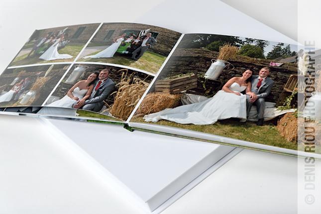 07  livre mariage avec coffret Denis Riou photographe Bruz Rennes Bretagne