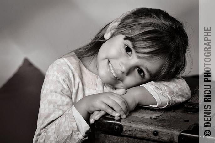 Portrait enfant – Séréna