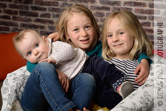 Portrait, les trois filles