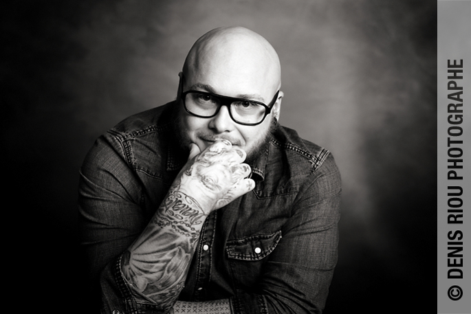 Portrait tatoué