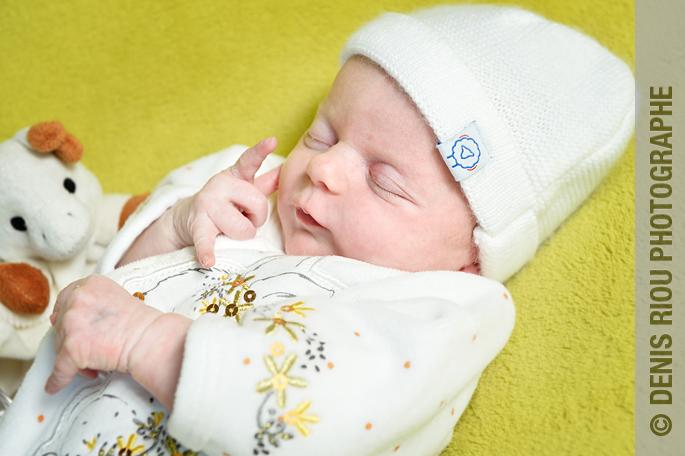 Photo à domicile, Maria est née.