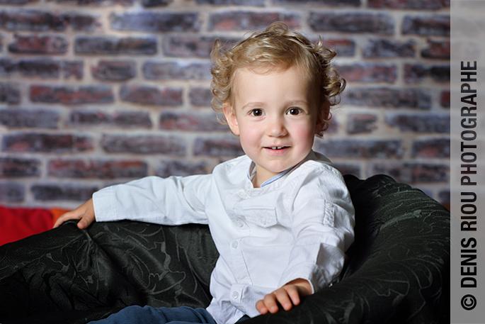 Portrait d'enfant, Eloan 2½ ans